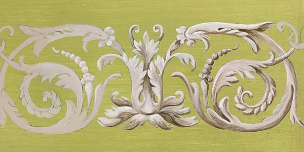 Peindre Une Frise D Acanthe De Jacques Stella